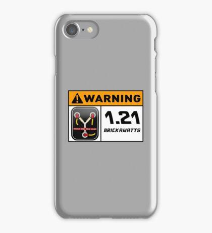 1.21 BRICKAWATTS Flux Capacitor edition iPhone Case/Skin