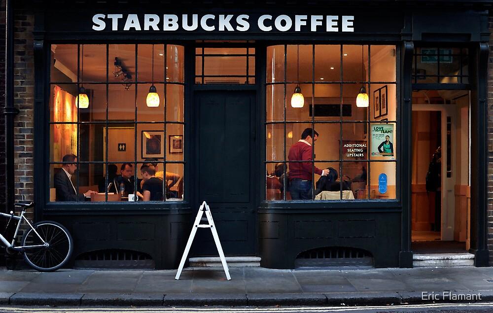 Starbucks Spitalfield by Eric Flamant