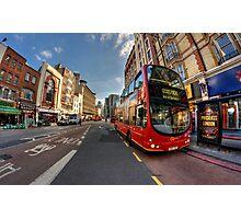 London Bus Photographic Print