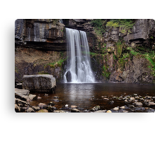 Thornton Force waterfall - The Yorkshire Dales Canvas Print