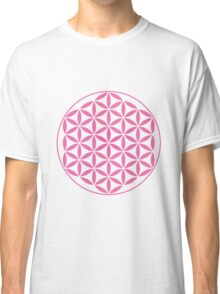 Flower of Life - Pink Classic T-Shirt