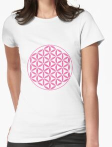 Flower of Life - Pink T-Shirt