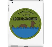 Loch Ness Monster iPad Case/Skin