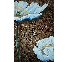 White Poppies II Photographic Print