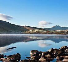 Snowdon from Llynnau Mymbyr by mountainsandsky