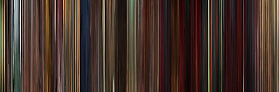 Moviebarcode: Kung Fu Panda 2 (2011) by moviebarcode