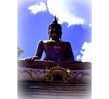 BIG BUDDHA Photographic Print