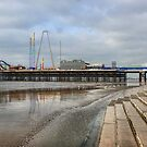 South Pier Blackpool by Lilian Marshall