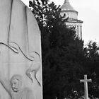 Magna Carta Memorial and Egham Church by CliveSluter