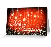 Merry Christmas Greetings Card Greeting Card