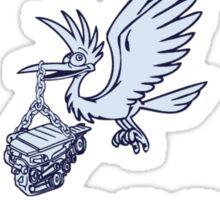 Stork and Sons Garage Sticker