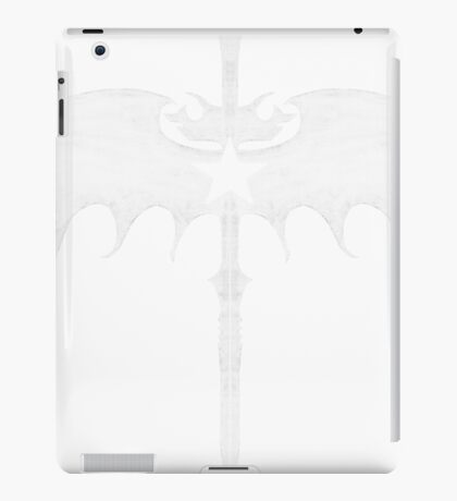 sword wing star white iPad Case/Skin