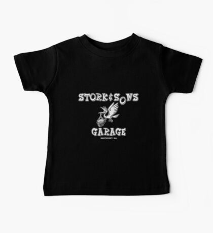 Stork and Sons Garage Dark Baby Tee
