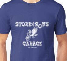 Stork and Sons Garage Dark Unisex T-Shirt