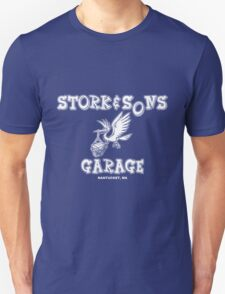 Stork and Sons Garage Dark T-Shirt