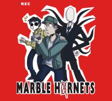 Marble Hornets T-shirt by panda3y3