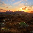 Sunrise over Coigach. Scotland. by PhotosEcosse
