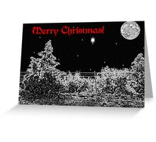 Winter's Night  Greeting Card