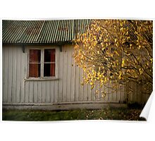 House In Autumn Poster
