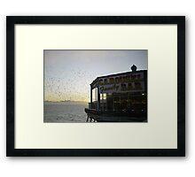 Carousel Bar Framed Print