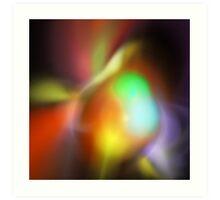Fluorescence Art Print