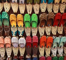 Slippers Marrakech Morocco by PaulineC