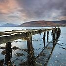 Loch Linnhe jetty by STEVE  BOOTE