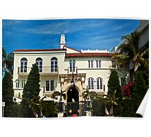 Versace Mansion Poster
