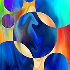Abstract Digital Paintings II by linmarie by linmarie