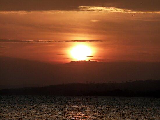 Inch Island November Sunset 2 by Fara