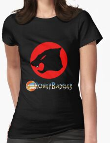 Honey Badger Womens Fitted T-Shirt