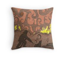 Firemans Tribute Throw Pillow