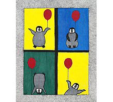 Penguin Fun Photographic Print
