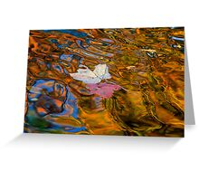 Water Colors of Fall Greeting Card