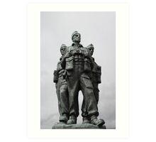 Commando Memorial Spean Bridge R.I.P. Art Print