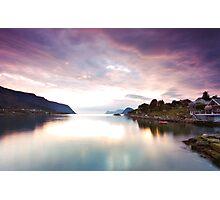 Nordic sunset Photographic Print