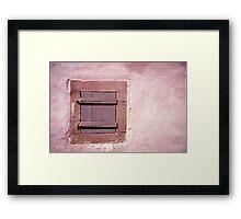Beautiful Window 8 Framed Print