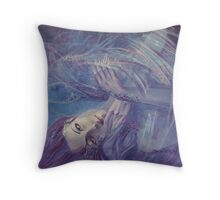 Broken wings - (Nymph3) Throw Pillow
