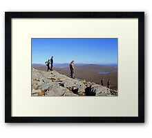 Surveying the Conditions Framed Print