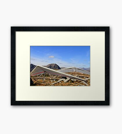 Gliders Ready... Framed Print