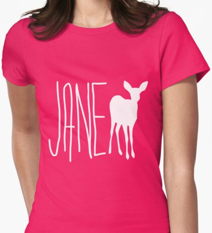Max's Shirt - Jane Doe  Womens Fitted T-Shirt