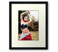 posed Framed Print