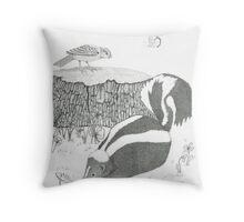 Woodland Adventures Part 2 Throw Pillow