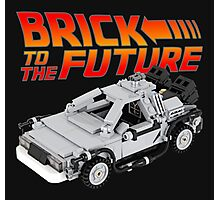 Brick To The Future Photographic Print