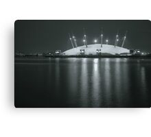 The O2 by night Canvas Print