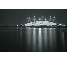 The O2 by night Photographic Print