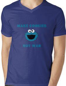 Make Cookies...Not War! Mens V-Neck T-Shirt
