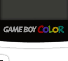 Game Boy Colour Tee Sticker
