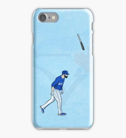 Jose Bat Flip. iPhone Case/Skin