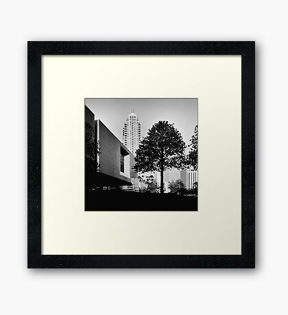 trees first Framed Print